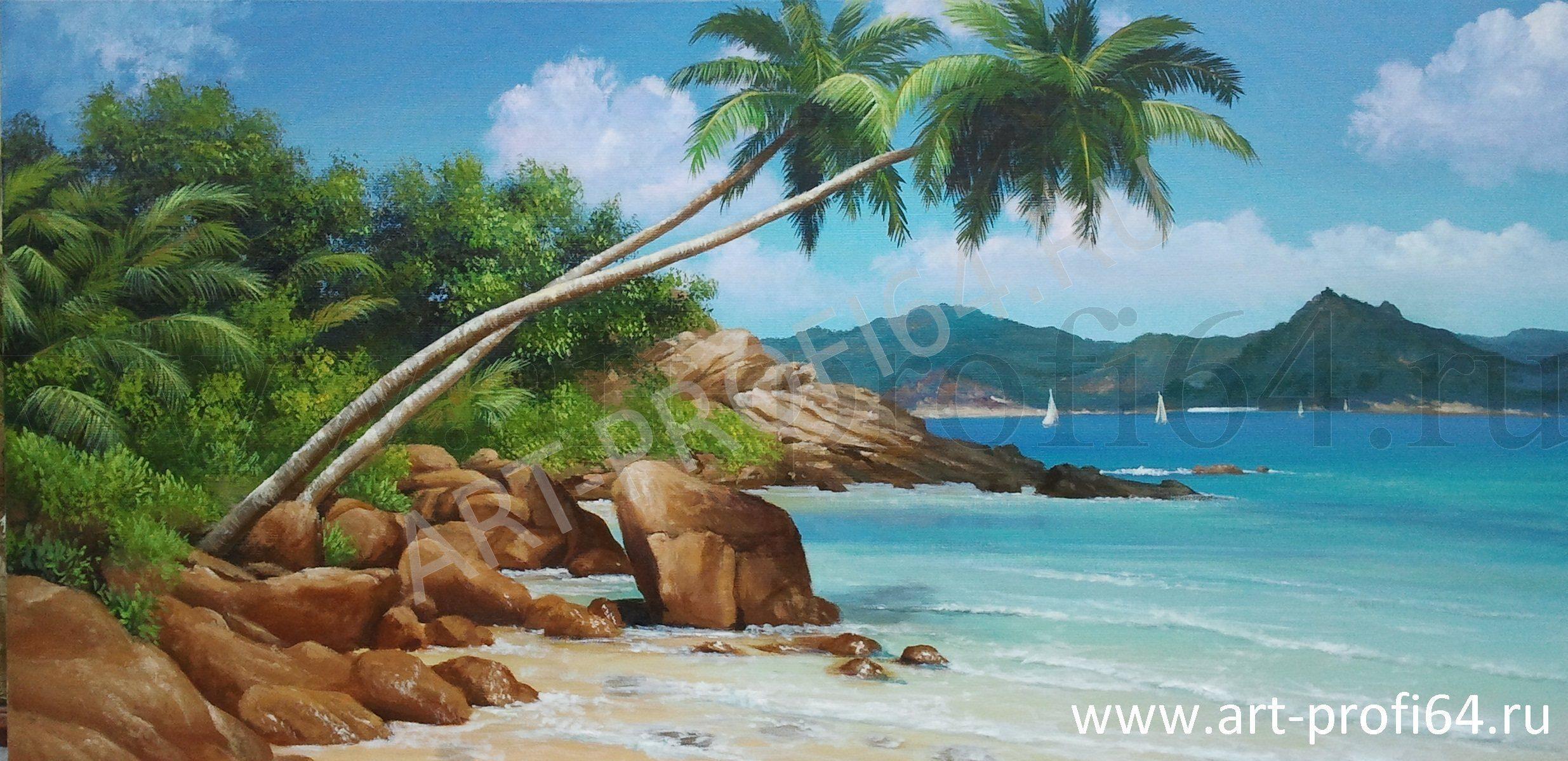 Картина райский остров работа павлов