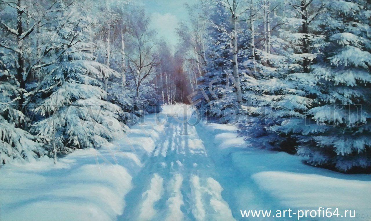 Картинки льва зимой в лесу