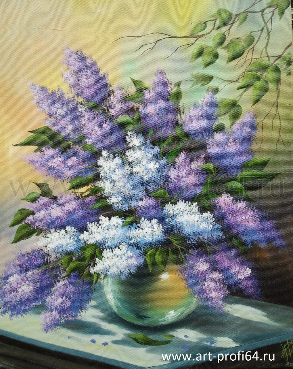 картины цветы фото:
