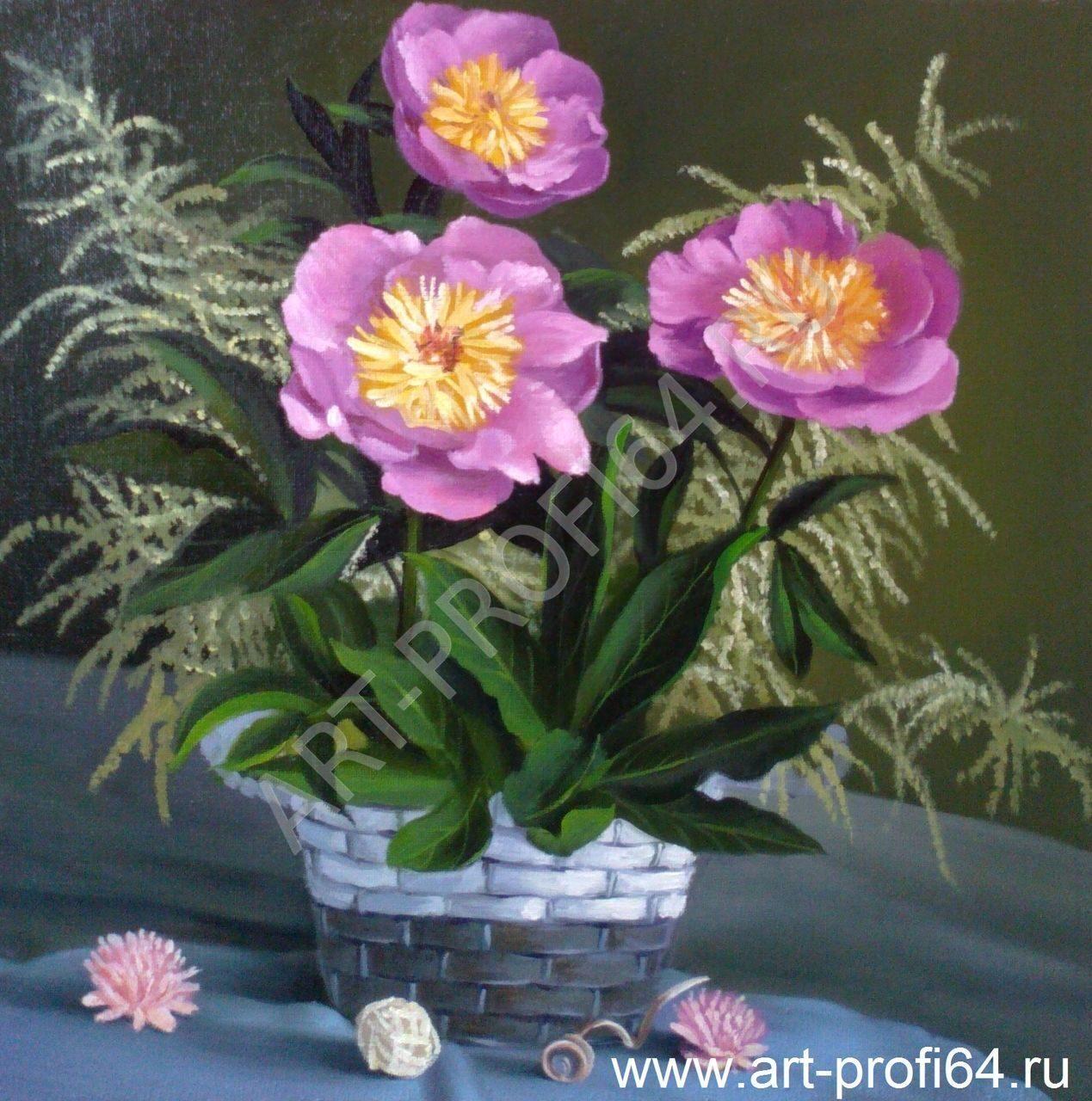 Картины цветы розы