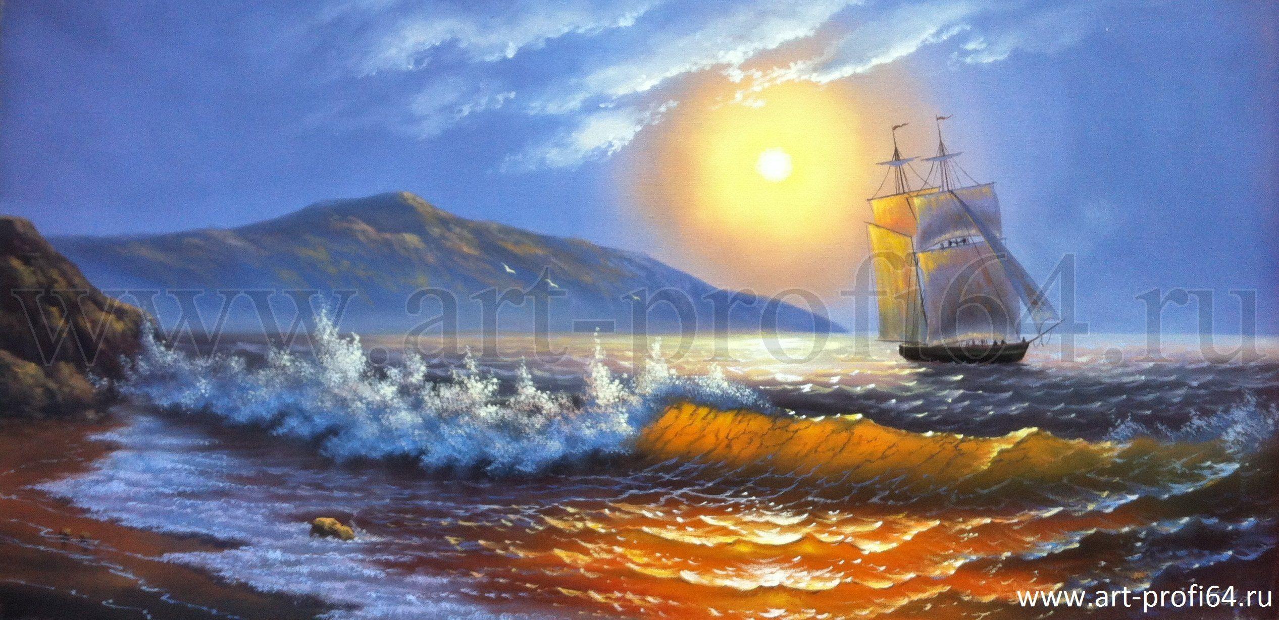Пейзажи в картинках марины картины