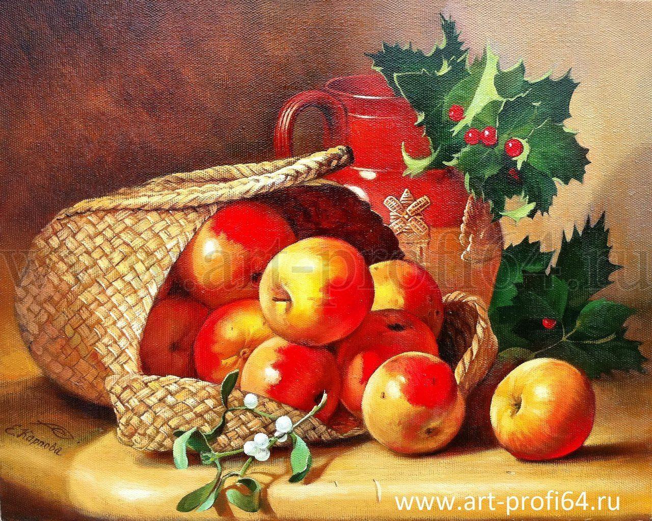 натюрморт с фруктами, живопись ...: art-profi64.ru/natyurmorty